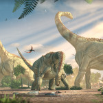 The final composition of Puertasaurus for 3DWorld Magazine